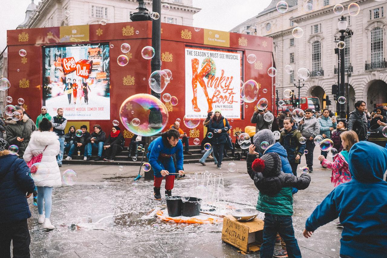 Beautiful stock photos of regen, large group of people, multi colored, celebration, women