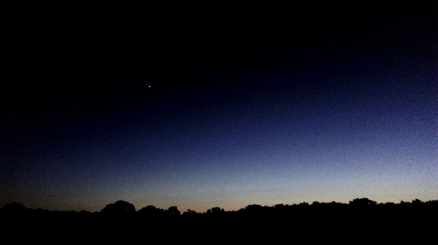 Camping Outdoor Camping Dusk Venus Heaven Nachthimmel Night Sky Stars