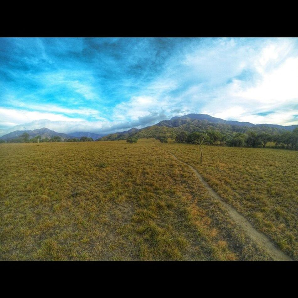 View from One degree plateau - Mt. Simagaysay and Mt. Timarid. AIDSventure AsankaAids Travelph Travel Mountain Plateau Phmountains Climb Hiking MtSicapoo Goproph  GoProHero3BE Goprodailypics Goprotravel Goprophilippines Gopro Itsmorefuninthephilippines