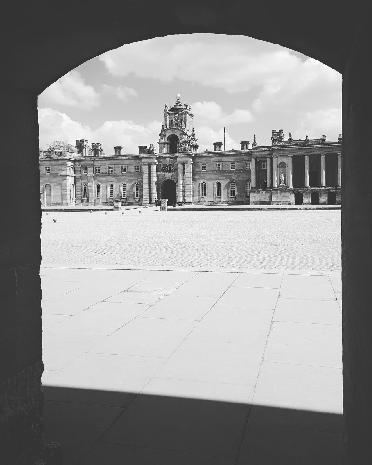 Blenheimpalace Blackandwhite Architecture History Built Structure No People Window View Oxfordshire Woodstock Politics And Government Building Exterior The Architect - 2017 EyeEm Awards
