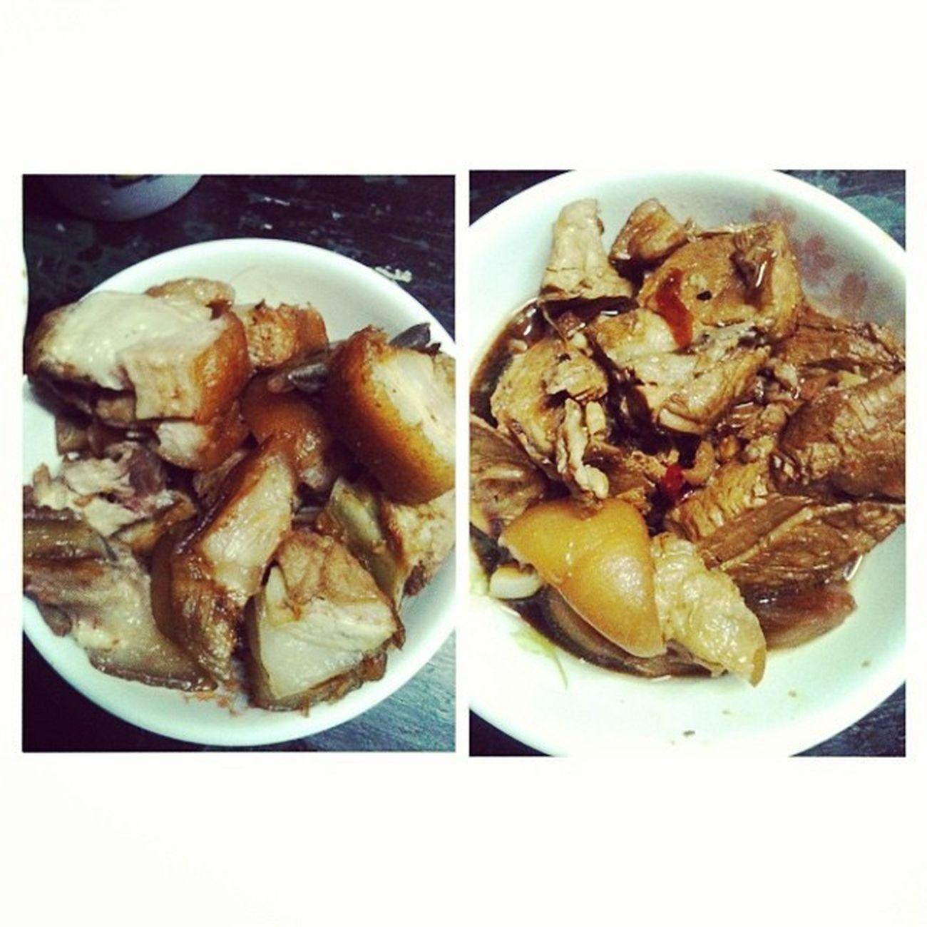 Isang linggong puro pork... -_- hinahighblood na... Nagmumukhang baboy na din ako... -_- UtaNa LOL Filipinofood Philippines foodstagram instafood foodgasm foodporn