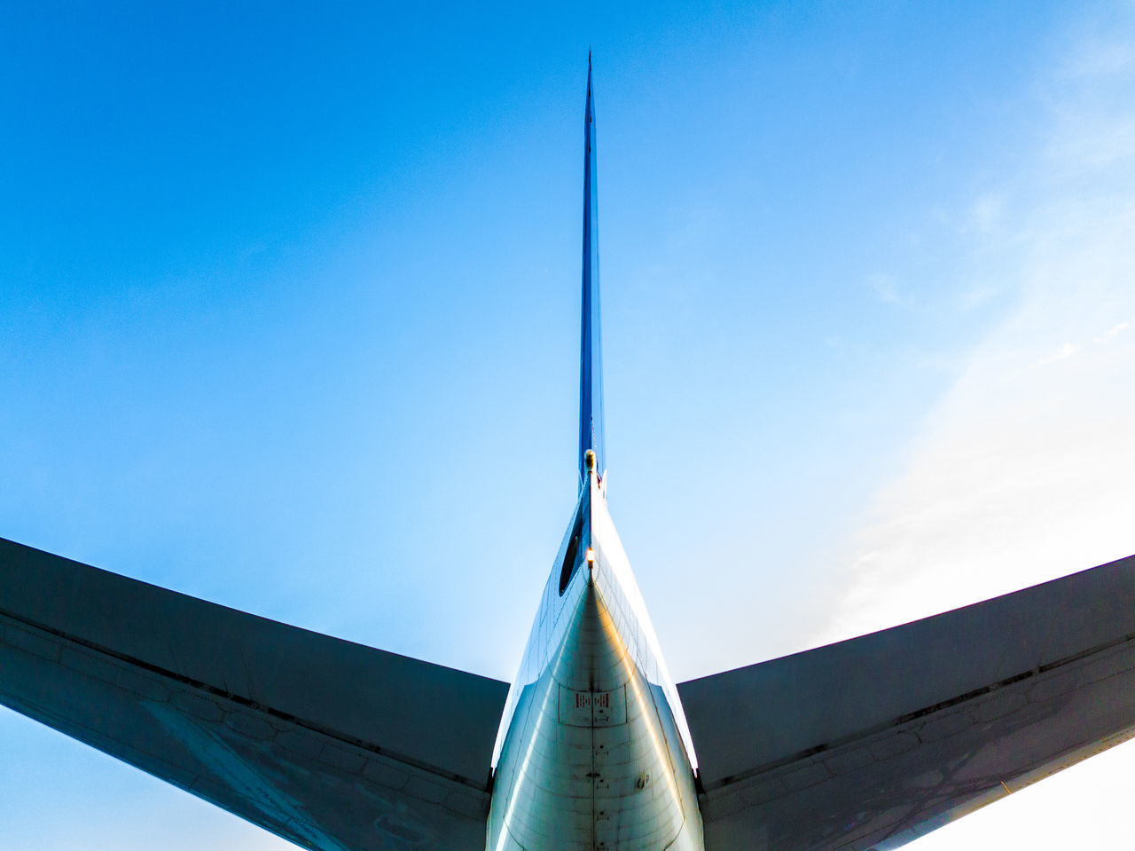 Beautiful stock photos of plane,  Aircraft,  Airplane,  Blue,  Clear Sky