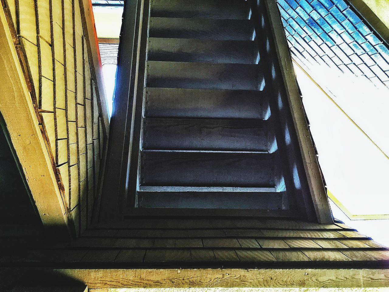 Look up under the stair