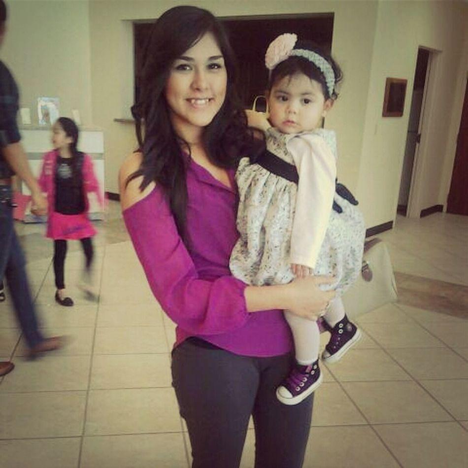 i love you little princess❤:) #Churchflow