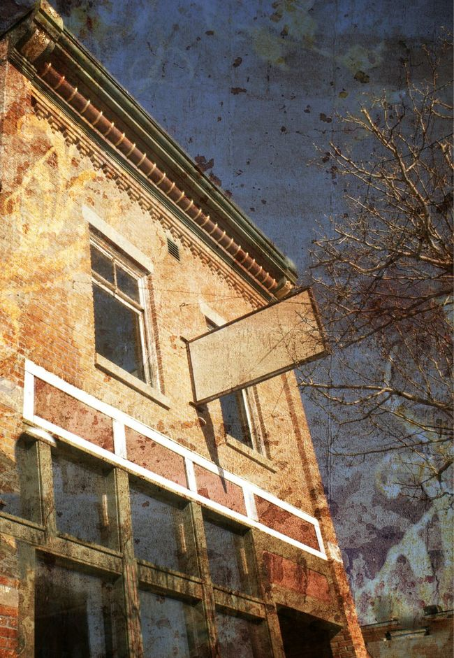 Small Town America Old Buildings Brick Building Gingerbread Michigan Noble East Jordan Classical Architecture Mirrorless
