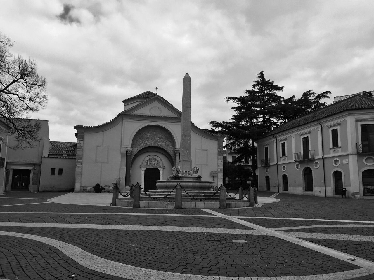 Benevento - Chiostro di S. Sofia Italy Benevento My Town Church Sud Black And White Sannio My Point Of View
