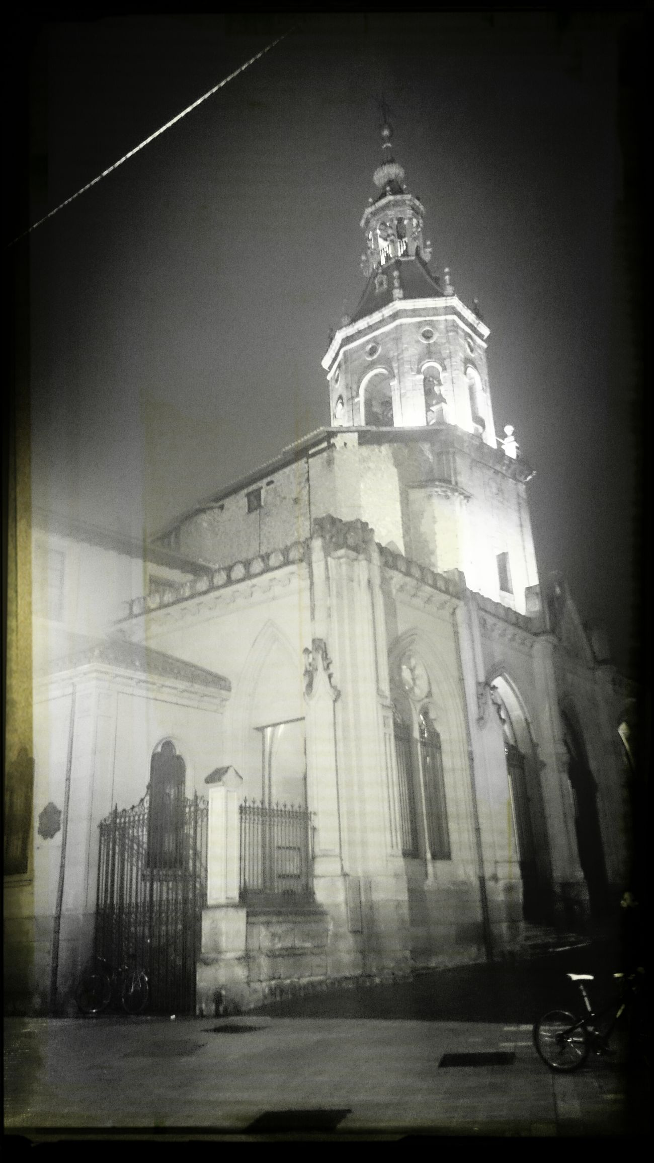 Church Scary Gasteiz / Vitoria AventureTime