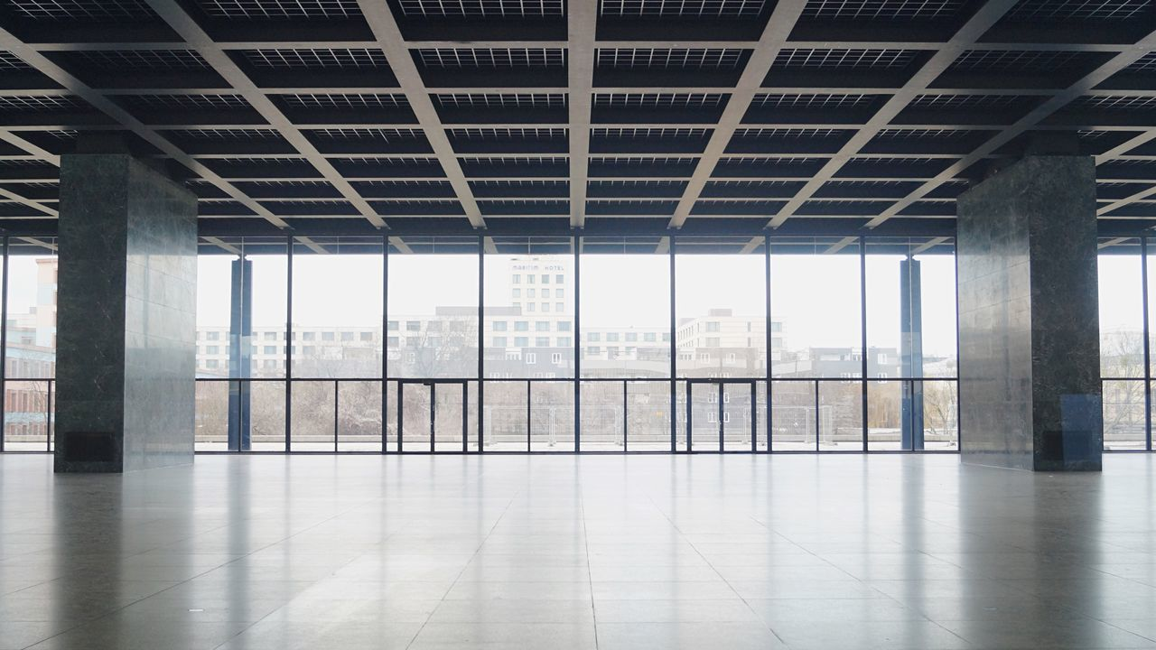 by Mies Van Der Rohe Neue Nationalgalerie Berlin The Architect - 2016 EyeEm Awards Your Design Story The Innovator Fine Art Photography Minimalist Architecture The Architect - 2017 EyeEm Awards The Architect - 2017 EyeEm Awards