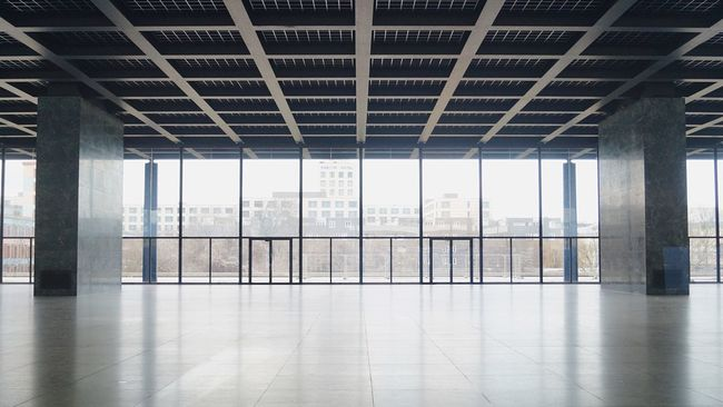 by Mies Van Der Rohe Neue Nationalgalerie Berlin The Architect - 2016 EyeEm Awards Your Design Story The Innovator Fine Art Photography