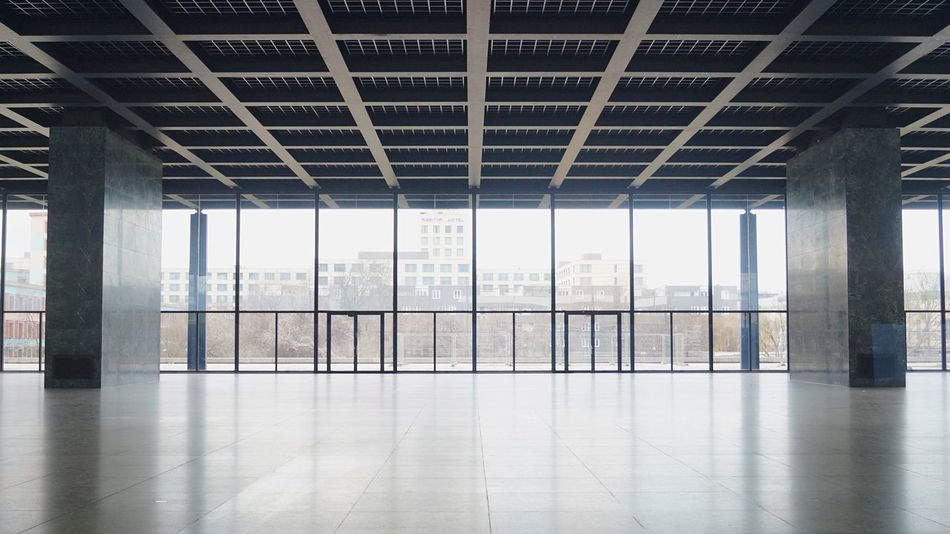 by Mies Van Der Rohe Neue Nationalgalerie Berlin The Architect - 2016 EyeEm Awards Your Design Story The Innovator Fine Art Photography Minimalist Architecture