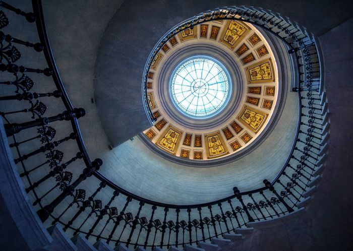 Architecture Built Structure Indoors  No People Staircase Staircase Vertigo Staircases Stairs