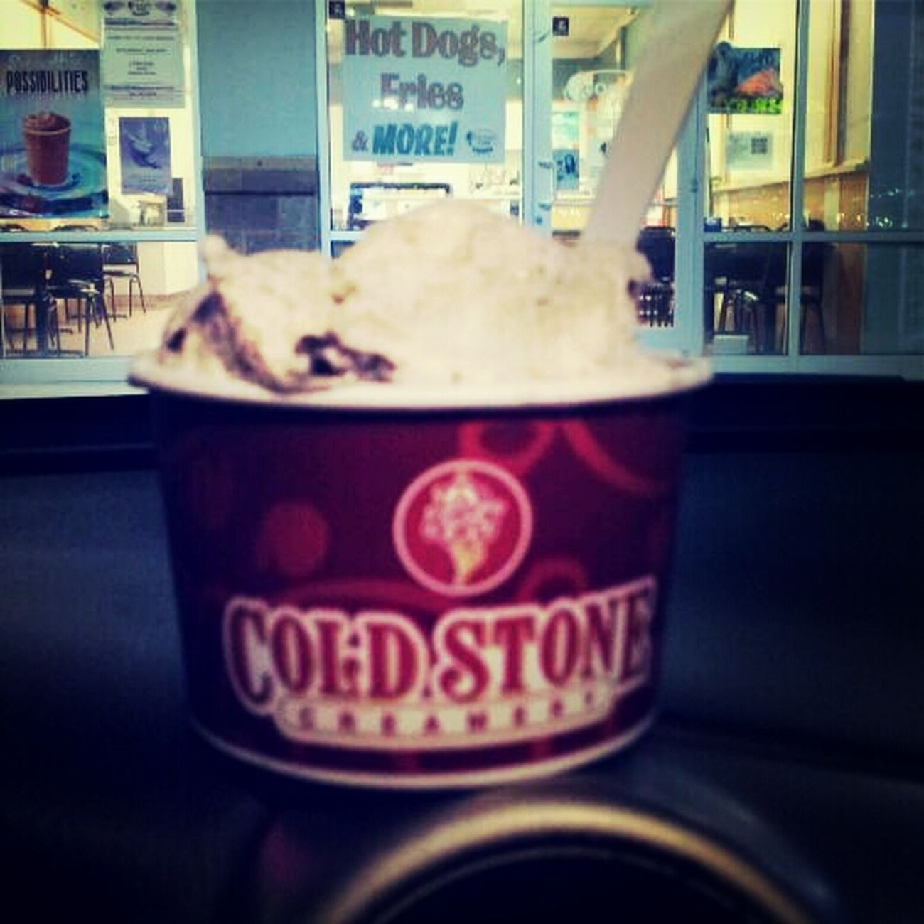 my baby got me some coldstone ! :)