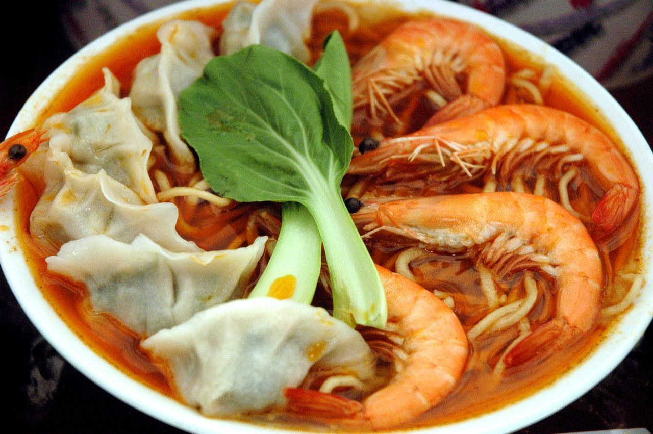 Chinese Food Close-up Day Dim Sum Dumplings Food Food And Drink Freshness Healthy Eating Indoors  No People Noodles Ready-to-eat Seafood Soup