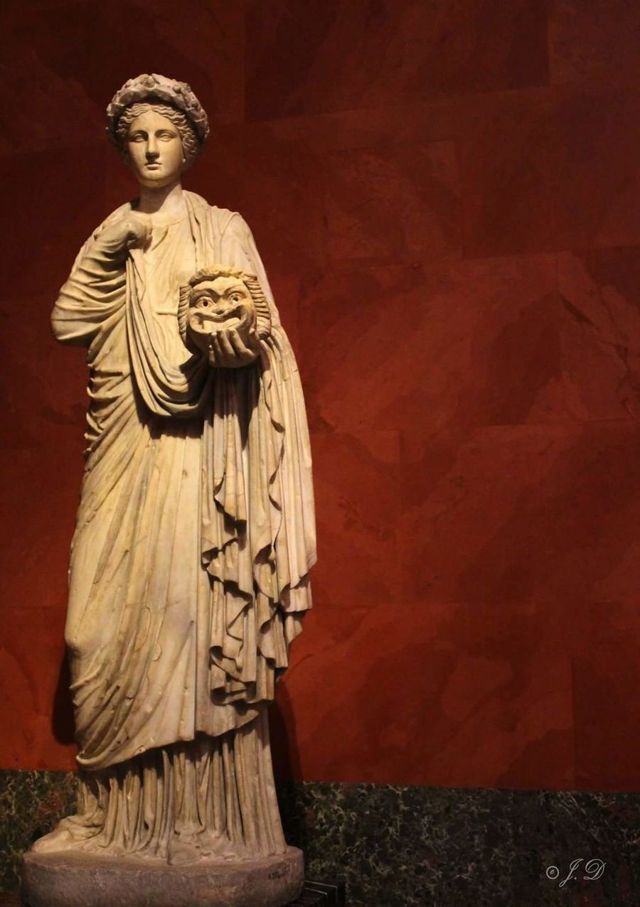 Thalia - Roman work after the Greek originals of 3rd - 2nd century b.c. acquired in 1862 from the collection of Marquis campana muse of comedy. photo by Julie D. Cultures No People Hermitage, St. Petersburg Hermitage Museum Comedy Thalia Roman Greek First Eyeem Photo