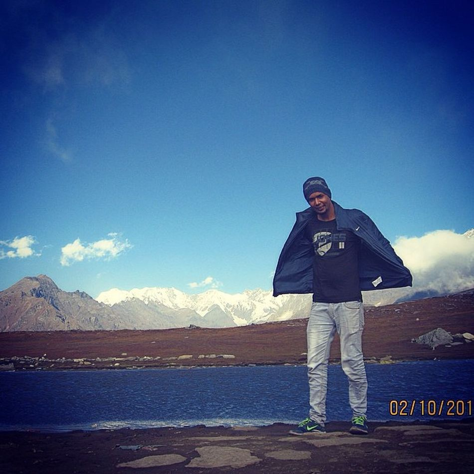 Rohtangpass Lake Dashaurlake PEC Friends Fun Tcm Masti