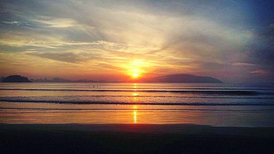 Aaahh o amanhecer... 😍❤ Sunset Beach Nature