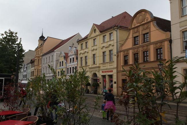 Cottbus Impressionen ... Altmarkt Brandenburg