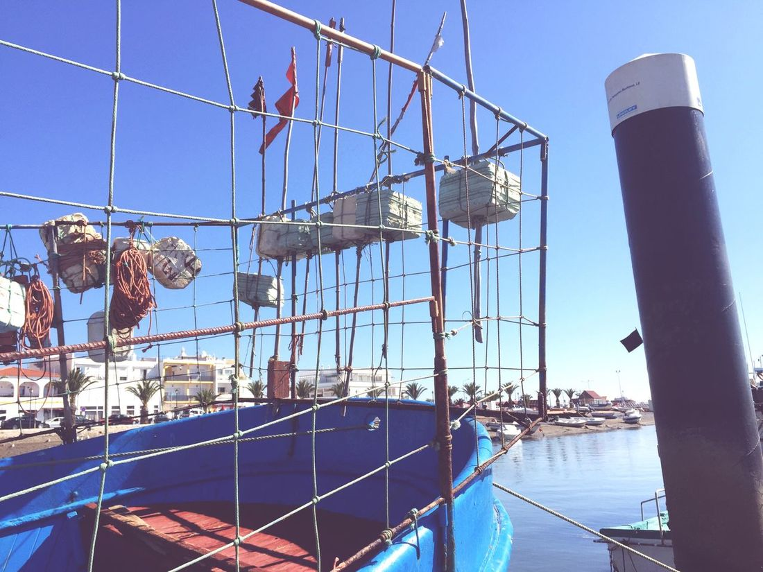 Iphoneonly Almaphotografica Hanging Out Fishing Boat Algarve, Portugal Almaphotografica