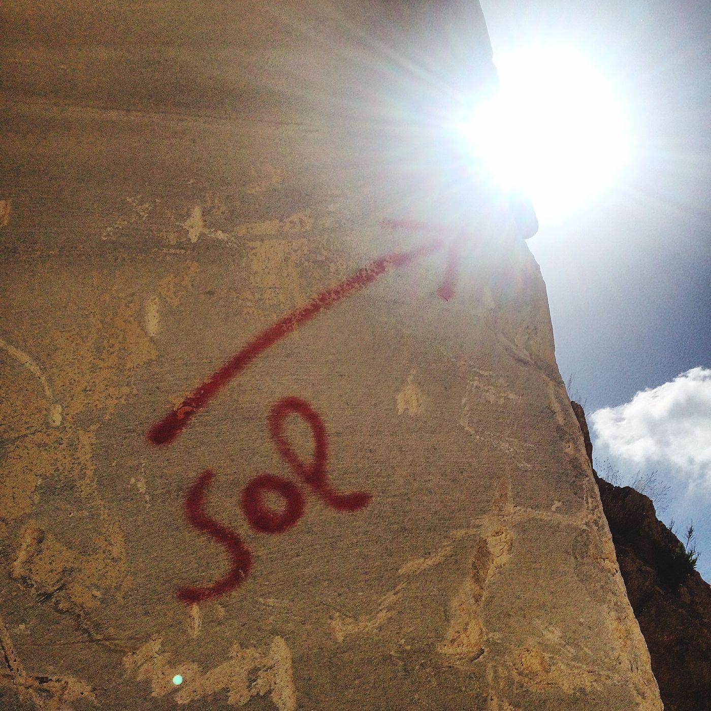Solargraphy cameras on duty at the Karpontini Bros Naxian Marble Quarry. Solarigrafia Solargraphy Pinhole Photography Naxos Sun