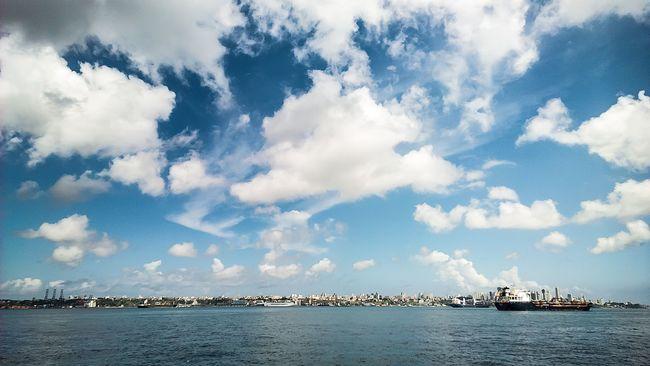 Salvador - Bahia Salvador Bahia Ferryboat Landscape BaiaDeTodosOsSantos