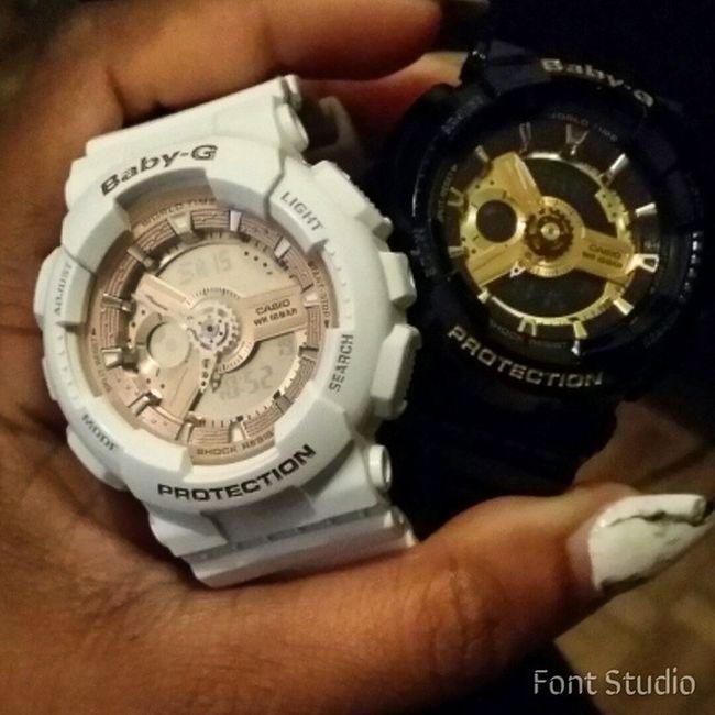 Baby G Addicted 😊😊😊😊 FavoriteWatches GiftFromMyself Babyg Casio watches gift brandnew