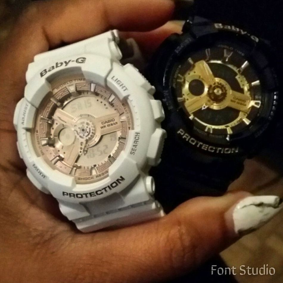 Baby G Addicted 😊😊😊😊 FavoriteWatches GiftFromMyself Babyg Casio watches gift brandnew