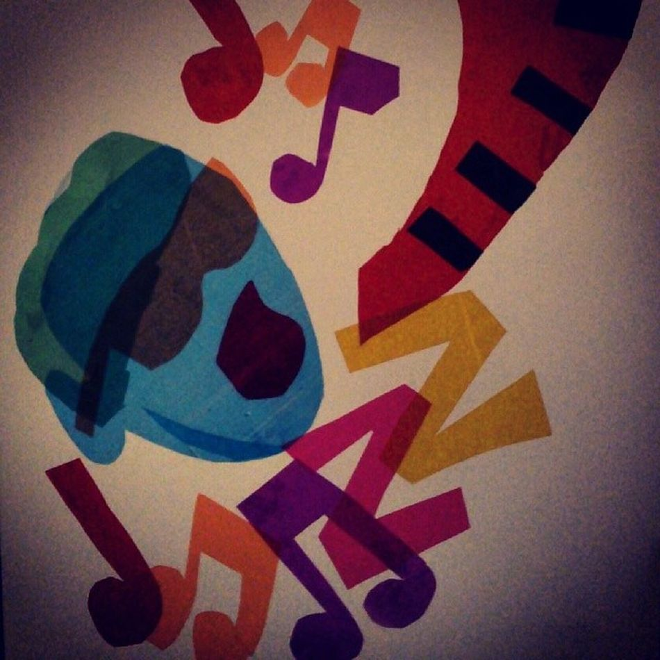 A work of transparetion in color Artjazz Music Classc Artist Art