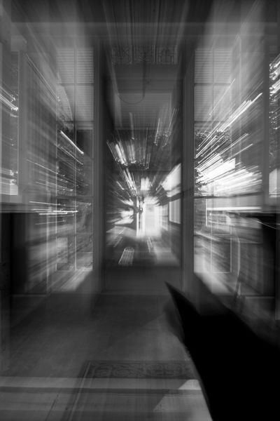 Abstract Blackandwhite Blurred Motion Cats Dreamy Illuminated Indoors  Motion Motion Blur Nikon No People Surreal