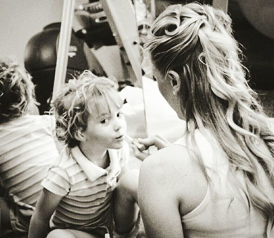 Youth Of Today Showcase: January Blackandwhite Hello World Makeup Motherhood Mirror FirstTime Pamper Mothers And Their Daughters Taking Photos Check This Out Childhood Enjoying Life Daughters Better Look Twice Wedding Day