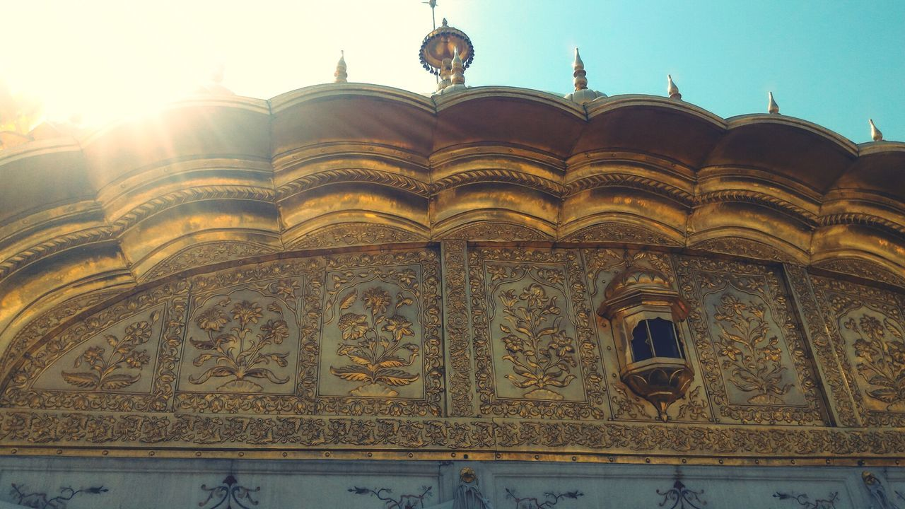 The Architect - 2017 EyeEm Awards Religion Golden Temple Gold Carving Architecture