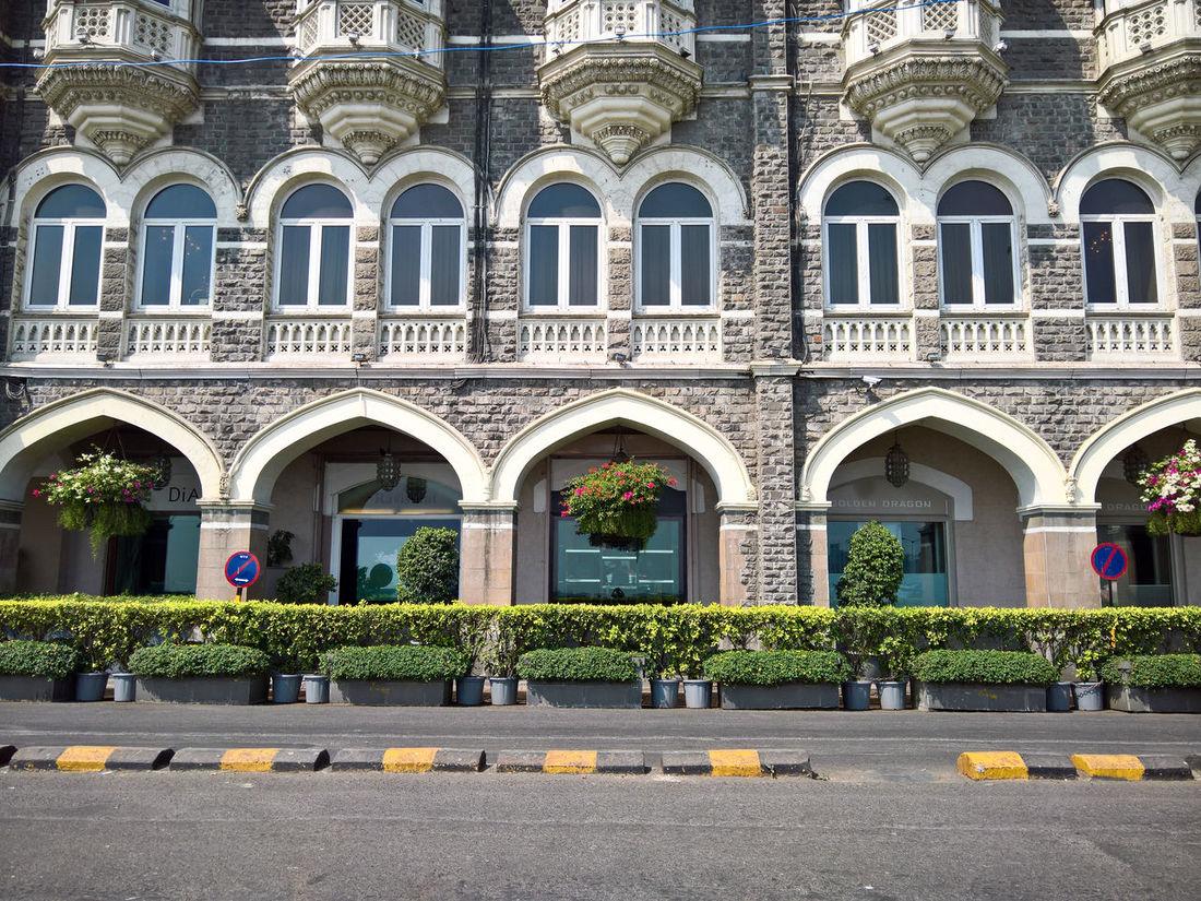 Architecture Bombay India Mumbai Road Taj Mahal Palace Taj Mahal Palace Hotel Terrorist Attack 2008 Windows