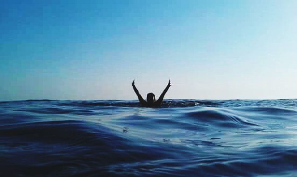 Love The Life You Live Sea Waterproof Camera Adriatic Sea Swimming Love Summer Happiness Happy Time Somewhere-nowhere