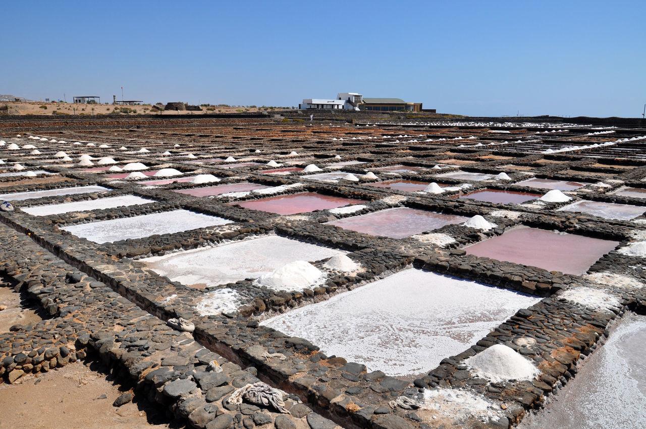 Canary Islands Day Fuerteventura Island Nature No People Outdoors Process Salt Basin Salt Flat View