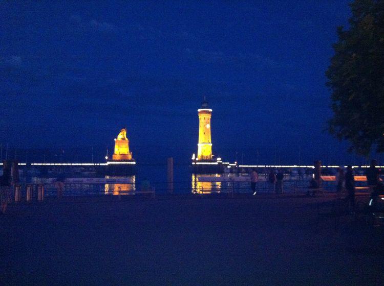 The Harbor of Lindau, Bodensee