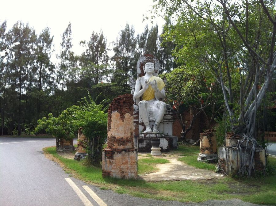 Photos of Bangkok, Thailand 2012 Day No People Outdoors Religion Sculpture Statue Tree