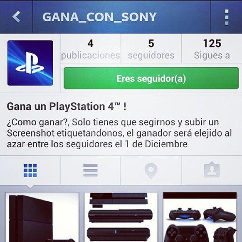 Ps4 Ganaconsony PS4 Playstation Playstation4 ganar premio gana con sony