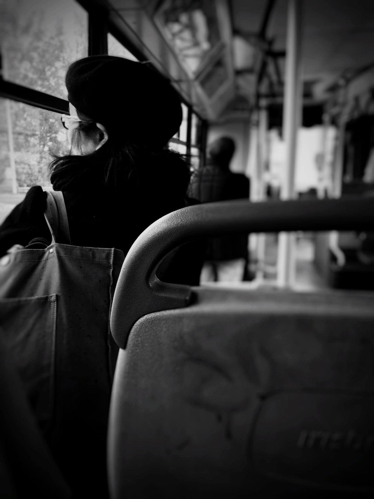 Bus Travel Wife Blackandwhite Black And White Black & White Black&white