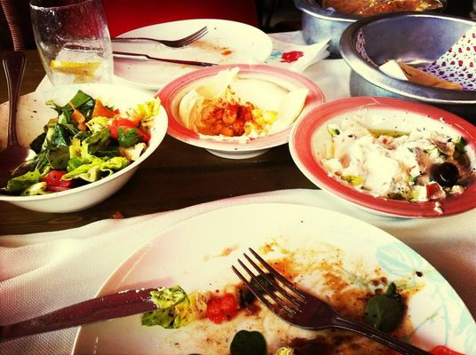 Lunch at Leila by Tarek Chalhoub