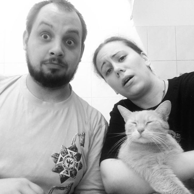 And post Gameofthrones finale selfie. With my cat Cersei. Awesome Mindblown  Valarmorgulis