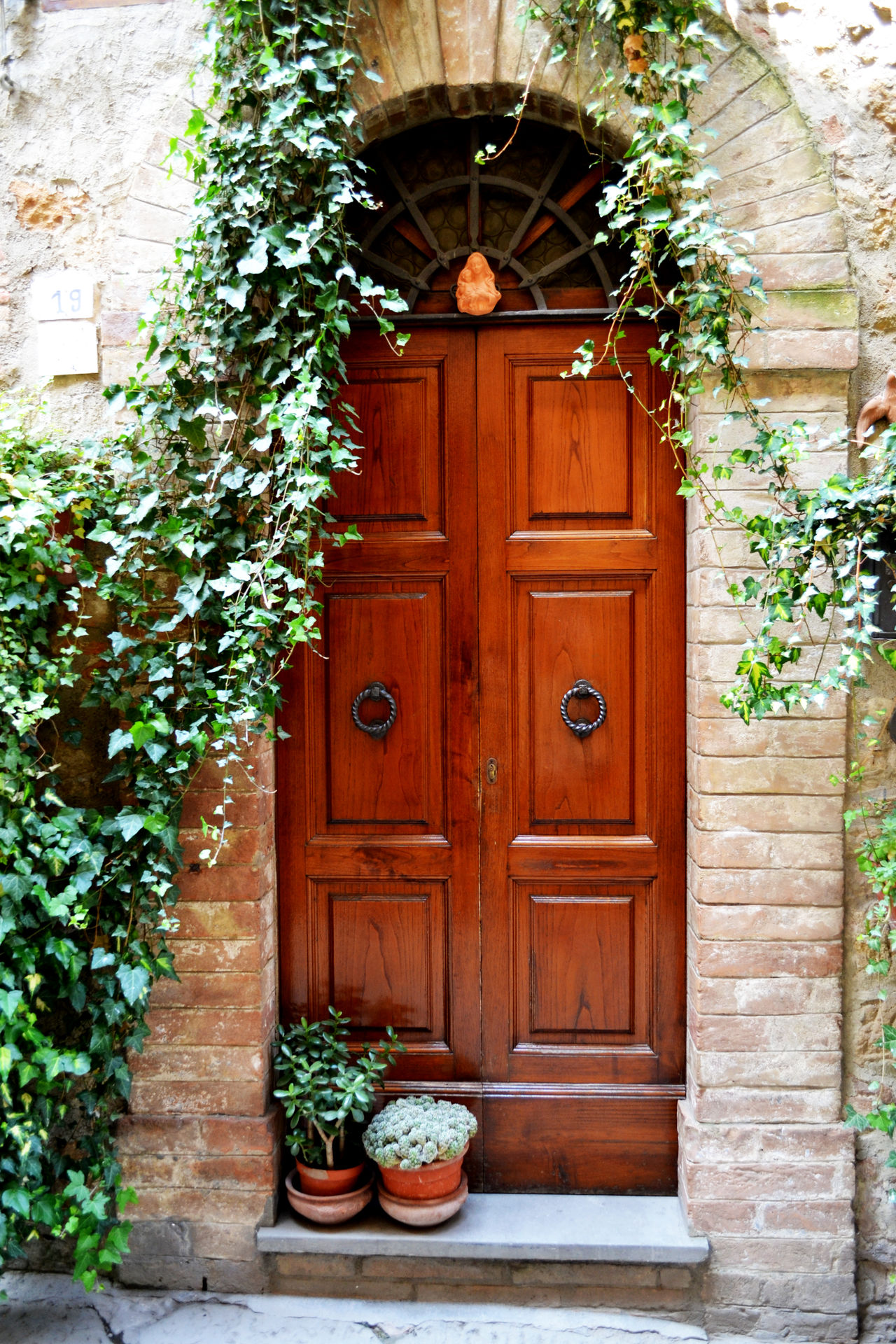 Architecture Door Doors Collection Entrance Flower Flower Pot House Italy No People Plant Potted Plant Traveling Traveling Photography Wood - Material Wooden Greetings From Italy
