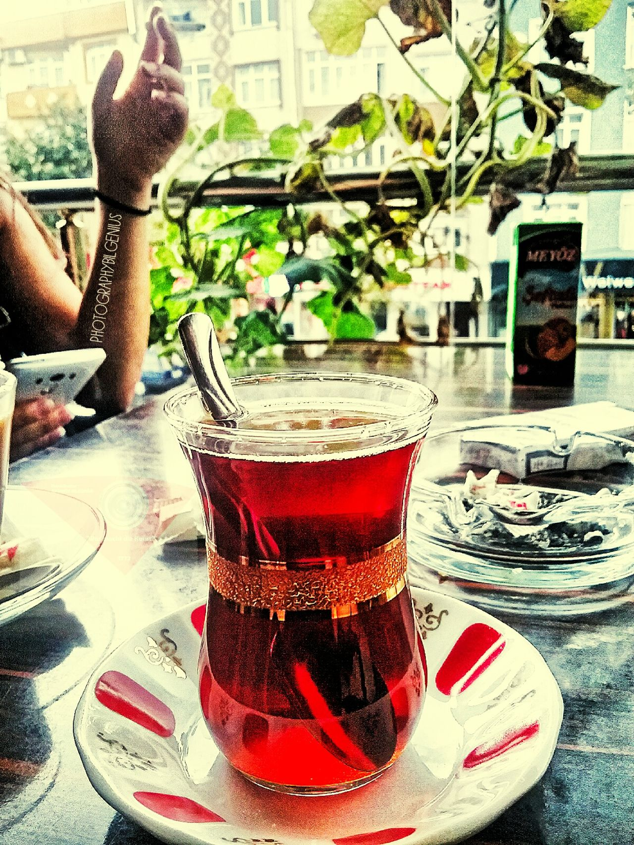 Konstantinopolis/ Still Life Drinking Glass Tea Time Tea Turkishtea First Eyeem Photo Hi! Hello World City Life Communication Multi Colored No People Turkishteaworker Istanbul City Istanbullove Food And Drink Drink Istanbul Turkey Konstantinopolis