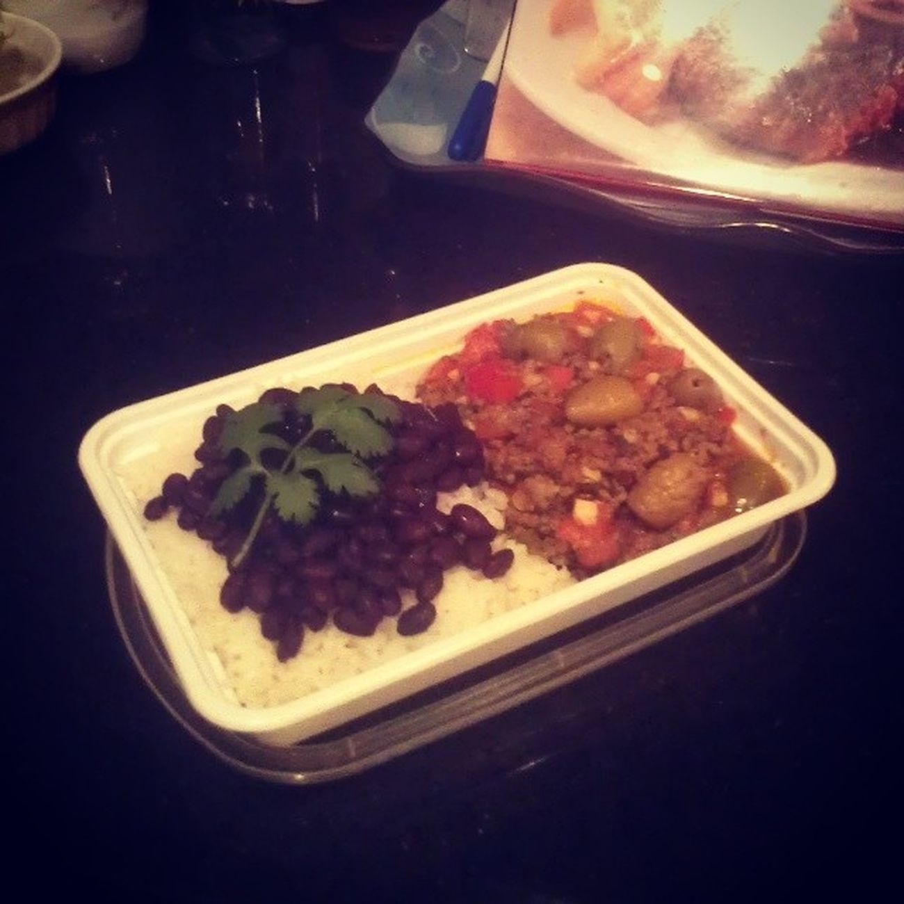 hubby's Makeahead Lunch Cuban Picadillo