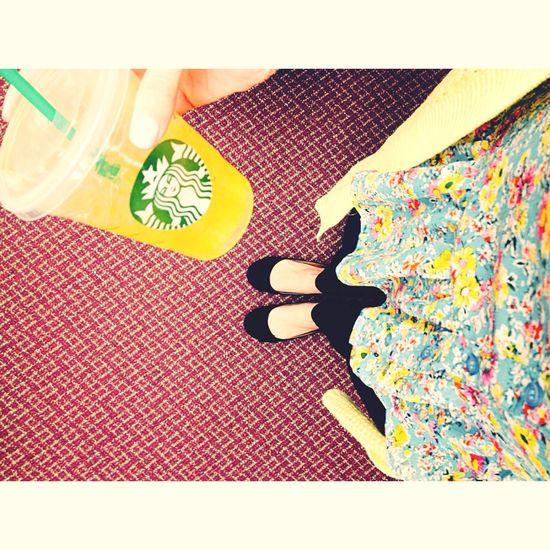 Starbucks ❤️ Girly Pic Of The Day Floral Ootd Planners & Coffee