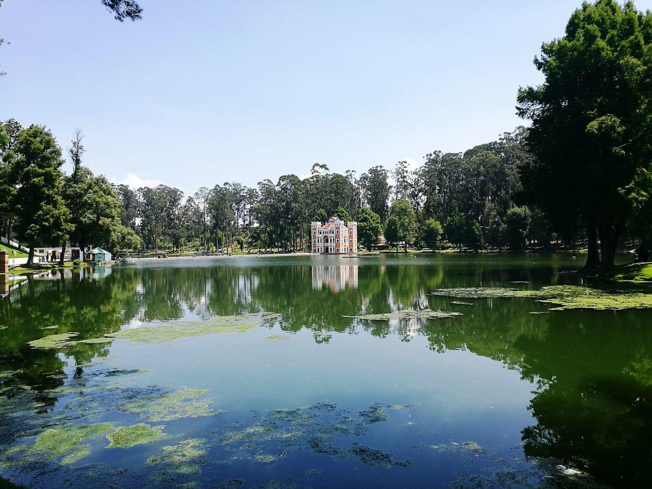 Beauty In Nature Day Picnic Reflection Exhacienda De Chautla