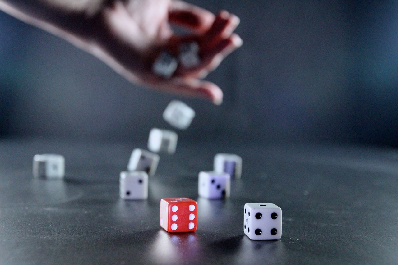 Beautiful stock photos of game, Close-Up, Dice, Focus On Foreground, Indoors