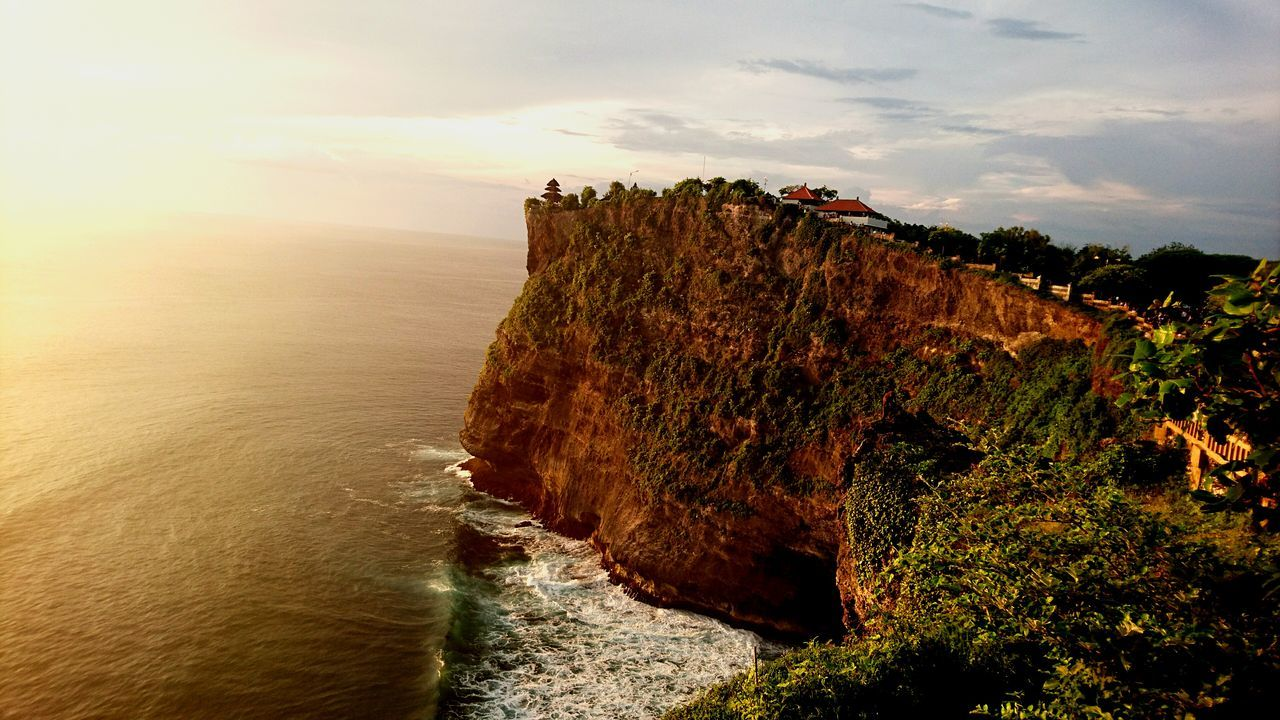 Nature Photography Sunset Cliff Ocean View I love the sunset of Uluwatu Jocydumonde