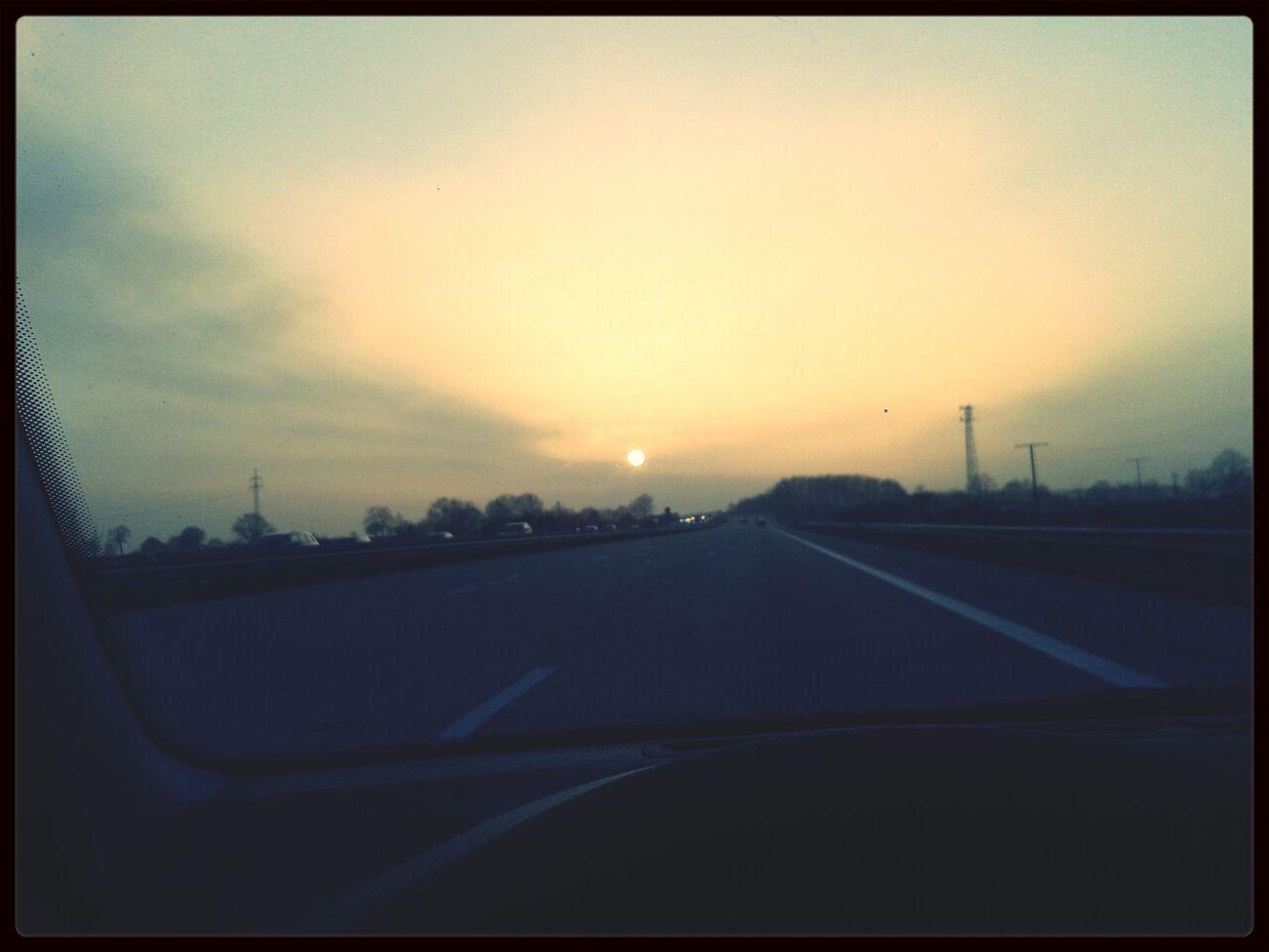 Sun over Bagdad-City