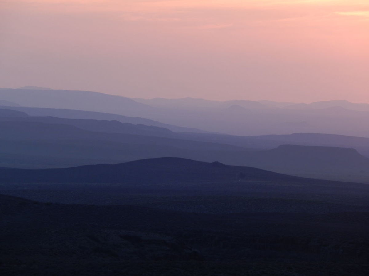 Sunset in Loeriesfontein, South Africa Blue Landscape Mountain Range Mountains Outdoors Remote Silhouette South African Sunset Sunset Silhouettes