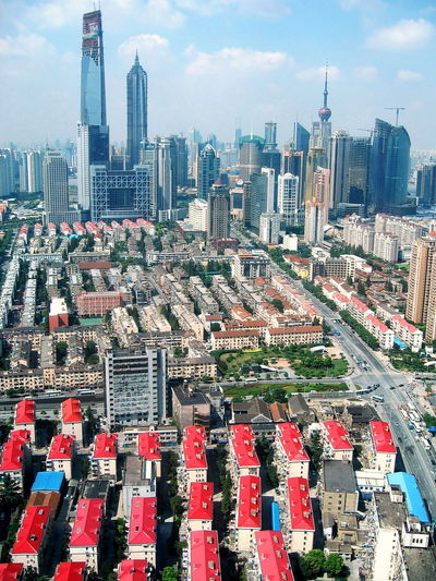 Shanghai Buildings & Architecture Architecture Architecture Architecture_collection Building Business District Capital Cities  High Rise Building Housing Estate Residential Building Showcase July Skyscraper Skyscrapers Color Palette Beautifully Organized