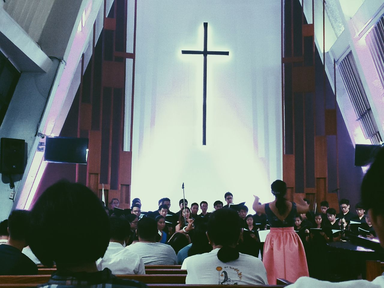 Choir  Recital Conducting Church Mobilephotography